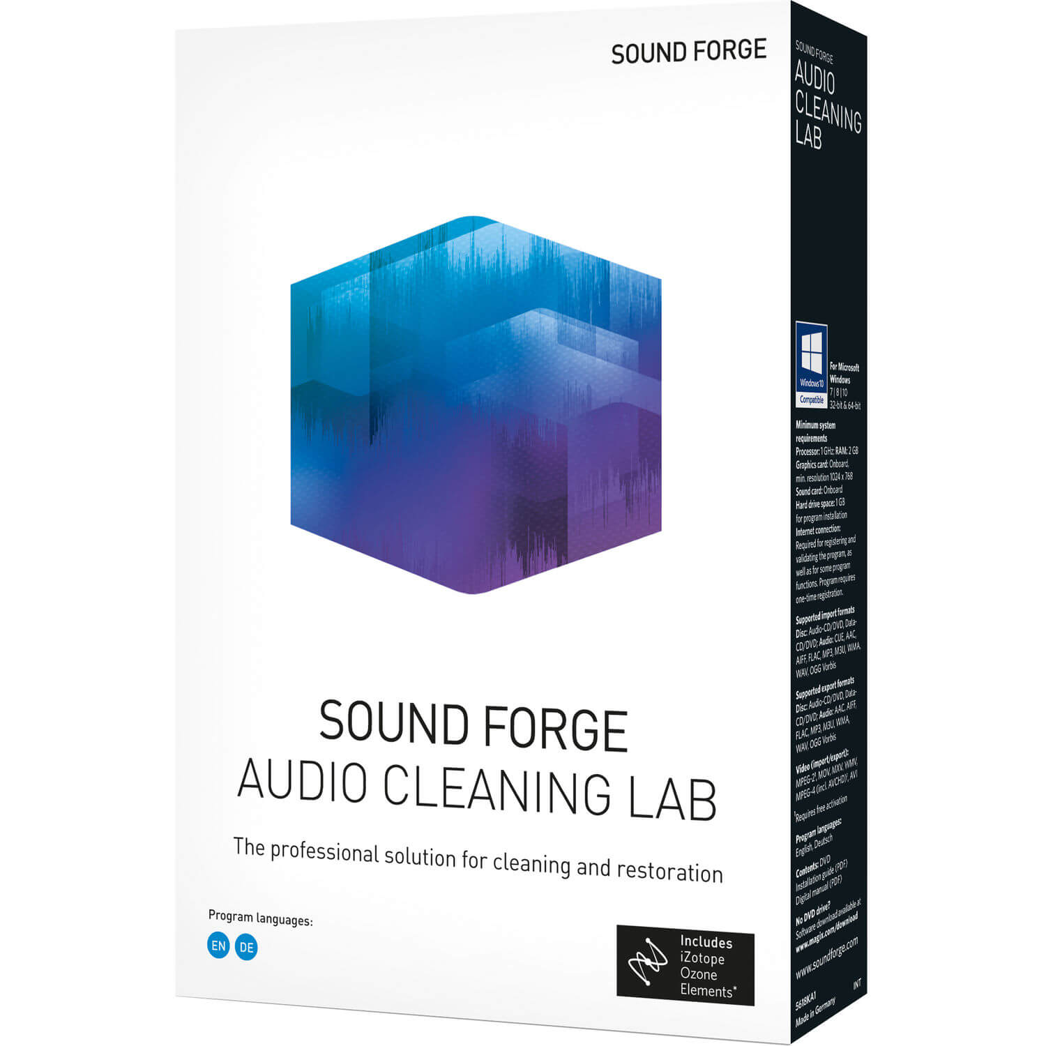 Magix Sound Forge Audio Cleaning Lab v25.0.1.23 Crack